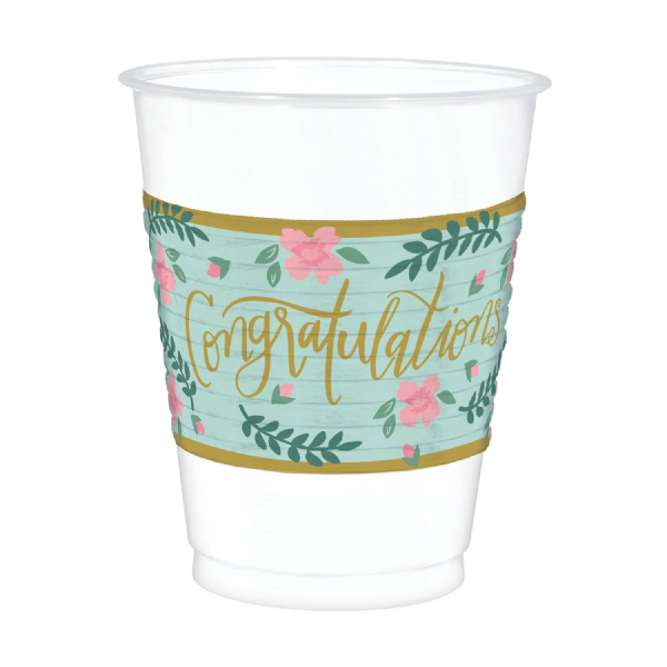 Mint To Be Plastic Cups (25pk)